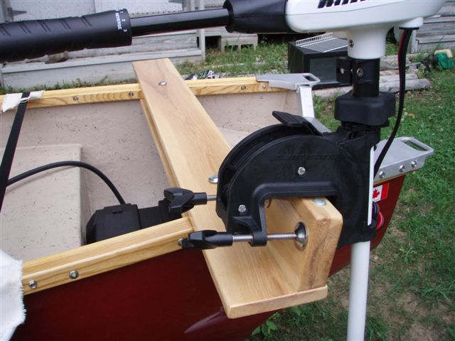 "6"" Motor Mount for Scott Canoes"